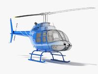 Bell Jetranger 206 Helicopter