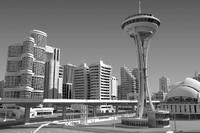3d modular city model