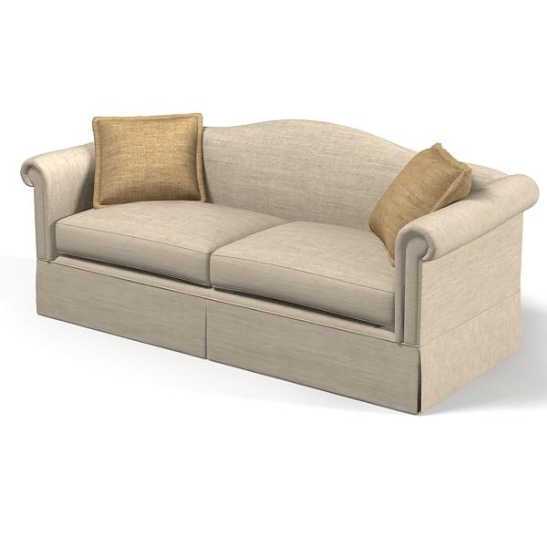 Classic Sofa Soft 3d Model