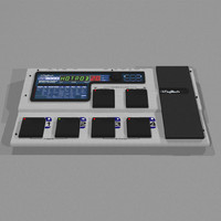 guitar effects processor 3d model