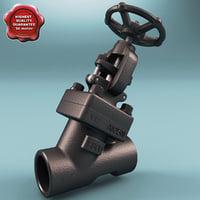 maya gate valve v8