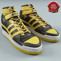 mens sneakers adidas adi 3d model