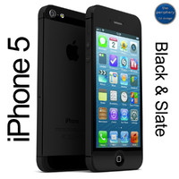 apple iphone 5 black 3ds