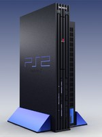 3d playstation 2 video model