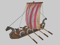 3d small warship