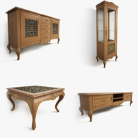furniture giorgio casa 3d model