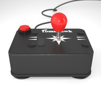 greek joystick 3d model