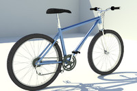 bicycle 3d model