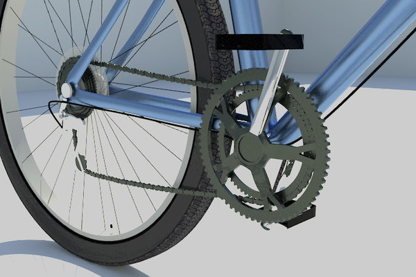 bicycle 3d model - Bicycle... by beckymoore55
