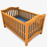 3ds max baby crib