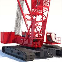 manitowoc 16000 crawler crane 3ds