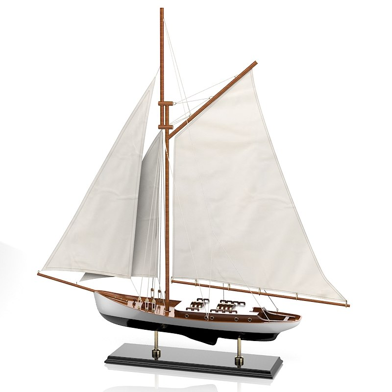 Sailboat Caroti Velieri 7491 Broads Yacht home decor accessory sea theme old miniature toy collection vintage.jpg