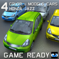 4 Color & Models Cars Honda Jazz