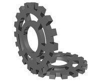gears animation 3d model