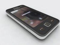 samsung c6712 mobile 3d model