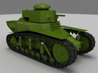 Soviet panzer MS-1 WW2