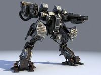 3d 3ds robot bot