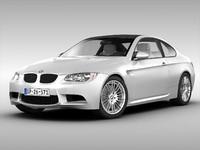 3d model bmw car