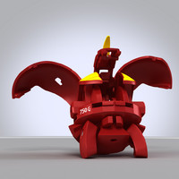 bakugan red dragon max