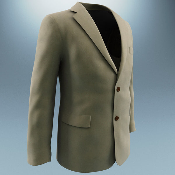 men jacket max - Men Jacket... by 3d_molier