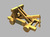 medieval middle catapult