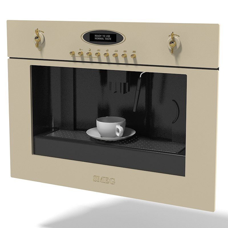 Smeg integrated kitchen coffee machine classic traditional retro style vintage antique built-in cappucino espresso.jpg