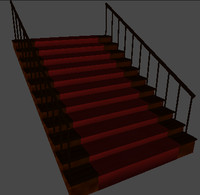 staircase 3d x