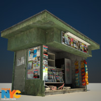 Truax Studio News Stand