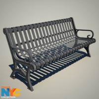 Truax Studio Park Bench