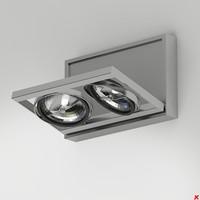 3d model wall lamp