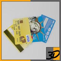 3d debit card model