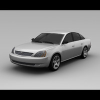 fivehundred 2007 3d model