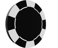 3d obj poker chip