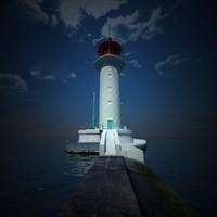 3dsmax lighthouse vorontsov