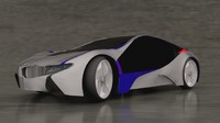bmw efficientdynamics 3d model