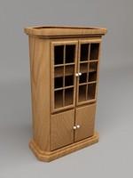 3d cabinet corner model