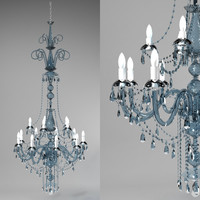 chandelier large 3d max