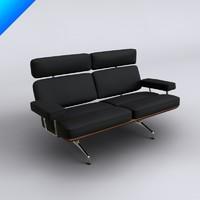 eames sofa 3d max