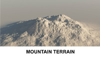 3d Terrain Mountain