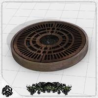 Tree Planter Grate Circle 1