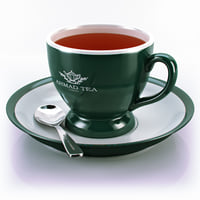 3d model tea