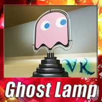 maya ghost lamp pac-man