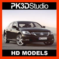 3d lexus gs car
