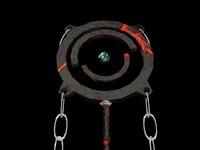 3d model lava staff