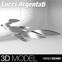 3d model lucci argentati light