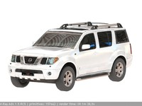 3d nissan pathfinder model