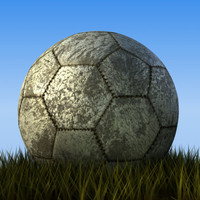 old soccerball