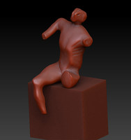 3ds max warrior henry moore