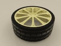 wheel subaru sti 3d max