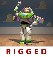 buzz lightyear toy 3d obj